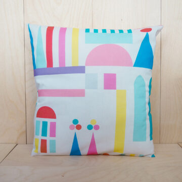 pastel pillow case