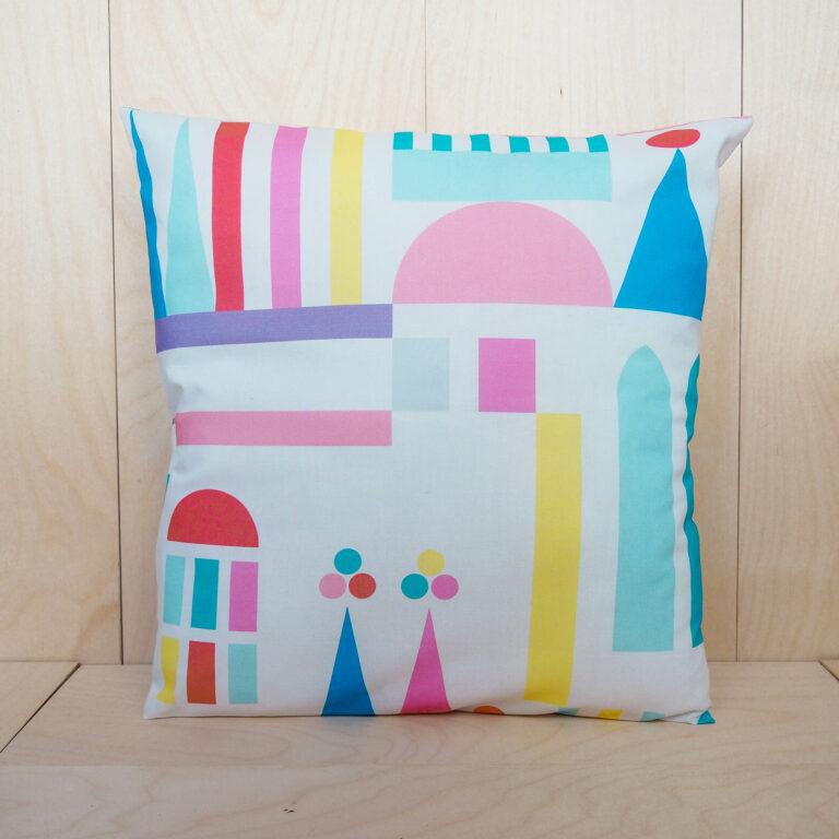 pastel pillow case