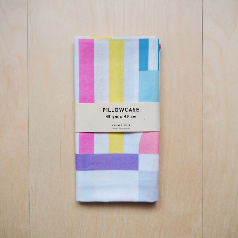 pastel pillow slip
