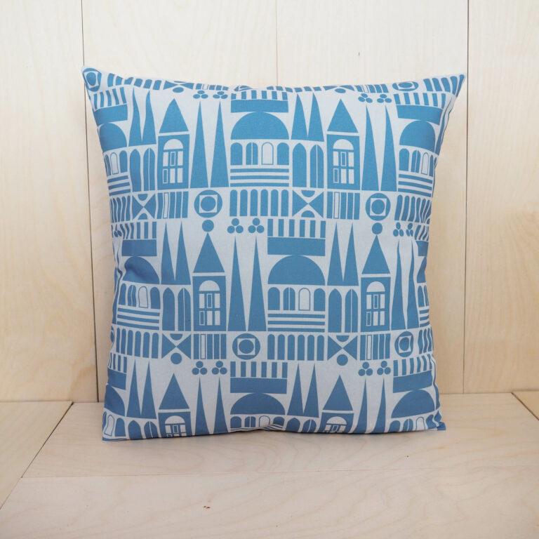 pillow case blue
